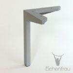 Möbelfuß aus Alu 20 cm