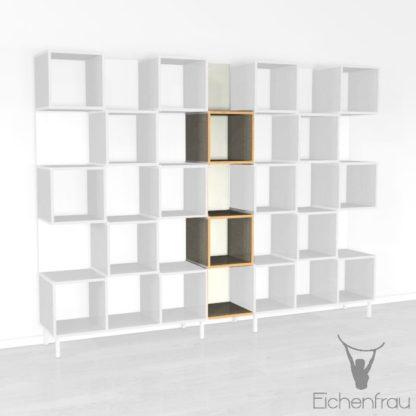 Eichenfrau Büroschrank form500-33 Multiplex Limette 01