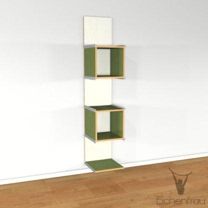 Eichenfrau Büroschrank form500-33 Multiplex Limette 02