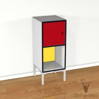 Eichenfrau Büroschrank form500-41 CDF Weiss
