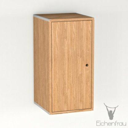 Eichenfrau Eintüriger Schrank form500-46 Massivholz Eiche