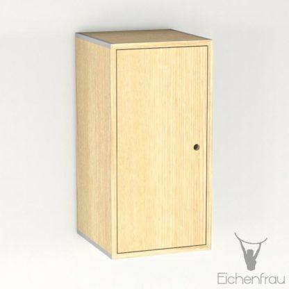 Eichenfrau Eintüriger Schrank form500-46 Massivholz Esche