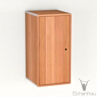 Eichenfrau Eintüriger Schrank form500-46 Massivholz Kirschbaum