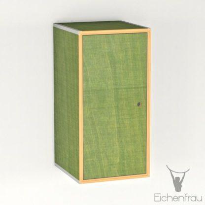 Eichenfrau Eintüriger Schrank form500-46 Multiplex Limette