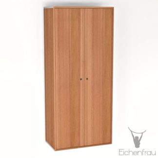 Eichenfrau Eintüriger Schrank form500-49 Massivholz Kirschbaum