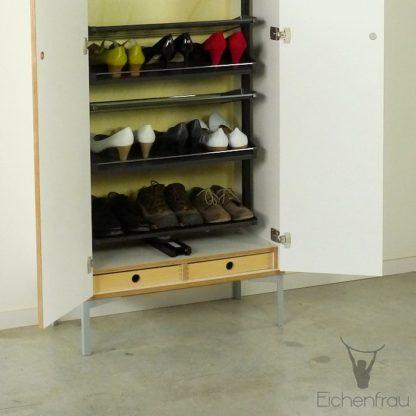 Eichenfrau Schuhschrank mit Auszug form500-45