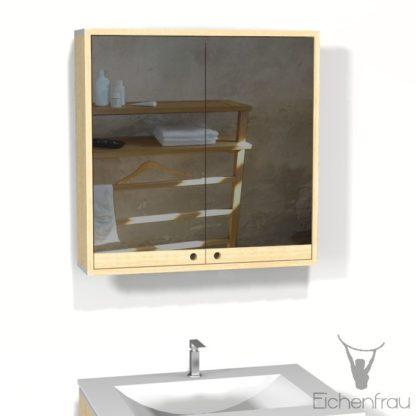 Eichenfrau Spiegelschrank form409 Massivholz Esche