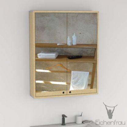 Eichenfrau Spiegelschrank form410 Massivholz Esche