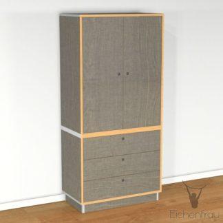 Eichenfrau Wäscheschrank form500-23 Multiplex Schlamm